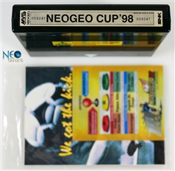 Neo-Geo Cup '98 English MVS cartridge