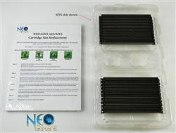 MVS cartridge slot replacement kit for Neo-Geo arcade system