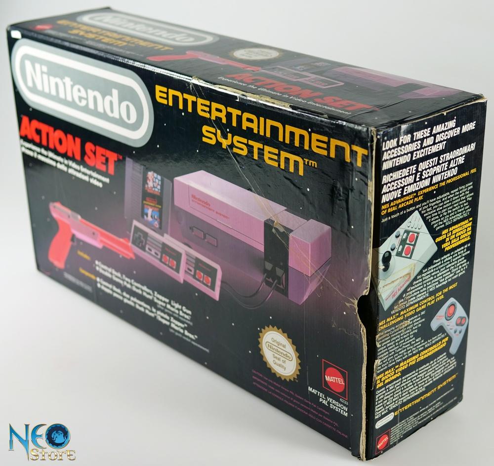 neostore com nintendo nes console  mattel version pal system  complete  boxed action set nintendo game boy advance sp manual game boy advance sp manual pdf