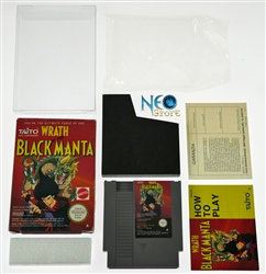 Wrath of the Black Manta™ Nintendo (NES). Made in Japan