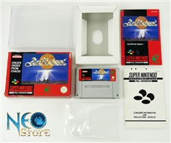 ActRaiser™ Super Nintendo (SNES), Made in Japan, version PAL.