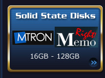 Solid State Disks - 16GB - 128GB