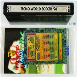 Tecmo World Soccer '96 + art pack