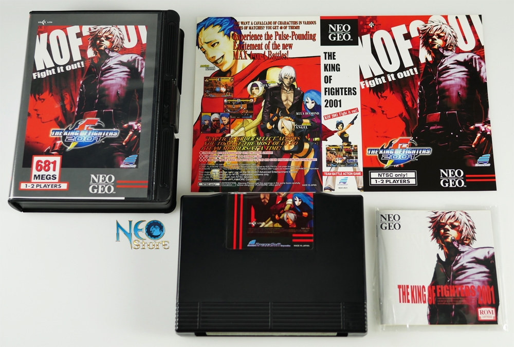 Neostore Com The King Of Fighters 2001 Classic English Aes