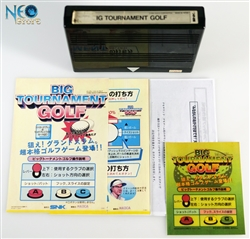 Big Tournament Golf Japanese MVS cartridge