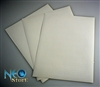 Glossy white MVS labels for laser printer
