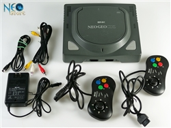 NEO·GEO CDZ console system w/ 2 control pads