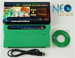 AES MagicKey - multifunction game genie for Neo-Geo home cartridges