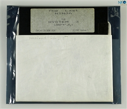The Last NINJA (rare promotional disk). Developed and published by System 3 in 1987 for Commodore 64/128