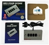 NES Four Score™ Adapter four player with Turbo for Nintendo Entertainment System 8-bit. Made in Japan.