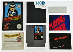 Hogan's Alley™ Nintendo (NES) 1984. Made in Japan and released in U.K.