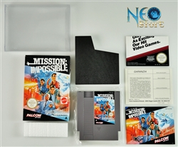 MISSION: IMPOSSIBLE™ Nintendo (NES-GP), Made in Japan.