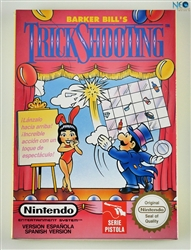 Barker Bill's Trick Shooting NES, Made in Japan.