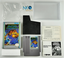 ALPHA MISSION™ Nintendo (NES-GP), Made in Japan.