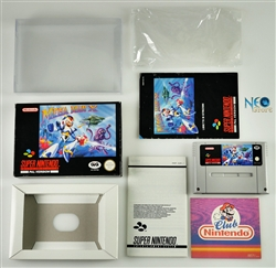 MEGA MAN X Super Nintendo (SNES), Made in Japan, version PAL.