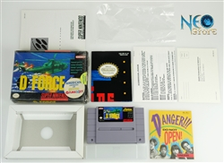 D-FORCE Super Nintendo (SNES), Made in Japan, version USA.