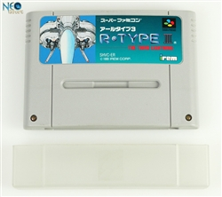 R-TYPE III®: The Third Lighting. Super Nintendo (SNES), Made in Japan..