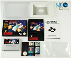 SUPER R-TYPE Super Nintendo (SNES), Made in Japan, version PAL.