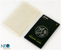 Neo-Geo Memory Card by SNK, model NEO-IC8 (white box version)