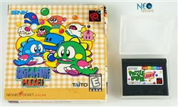 Puzzle Bobble Mini English Neo-Geo Pocket Color NGPC