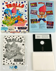 Trolls (1992) by Flair Software Ltd. for C64/128