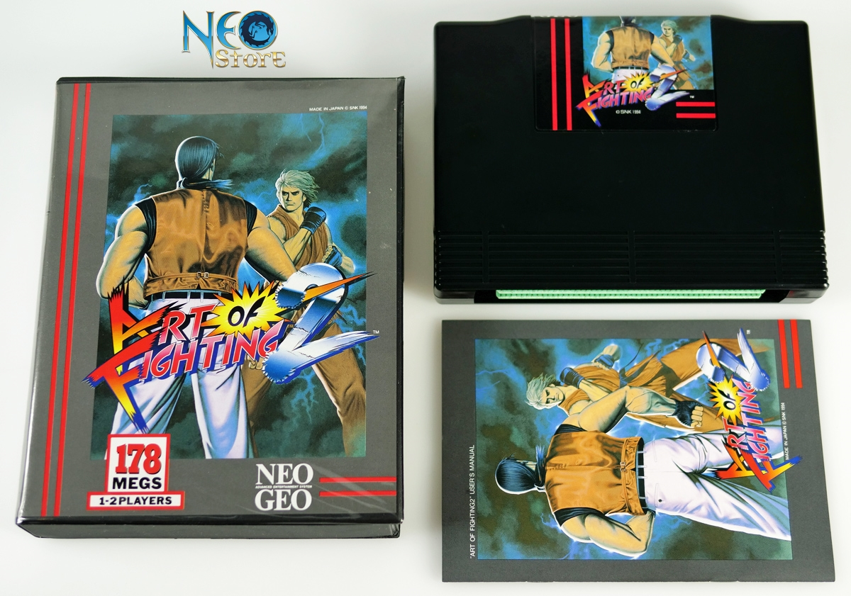 Neostore Com Art Of Fighting 2 English Aes