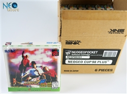 Neo-Geo Cup '98 Plus (carton box) English Neo-Geo Pocket Color NGPC
