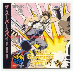 The Super Spy Japanese Neo-Geo CD
