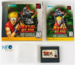 Metal Slug: 1st Mission (carton box) English NGPC
