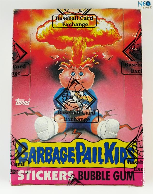 Neostore Com Garbage Pail Kids 1st Series New Box 48 Wax Packs Us Version Topps 1985
