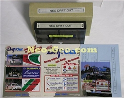 Neo Drift Out English MVS cartridge