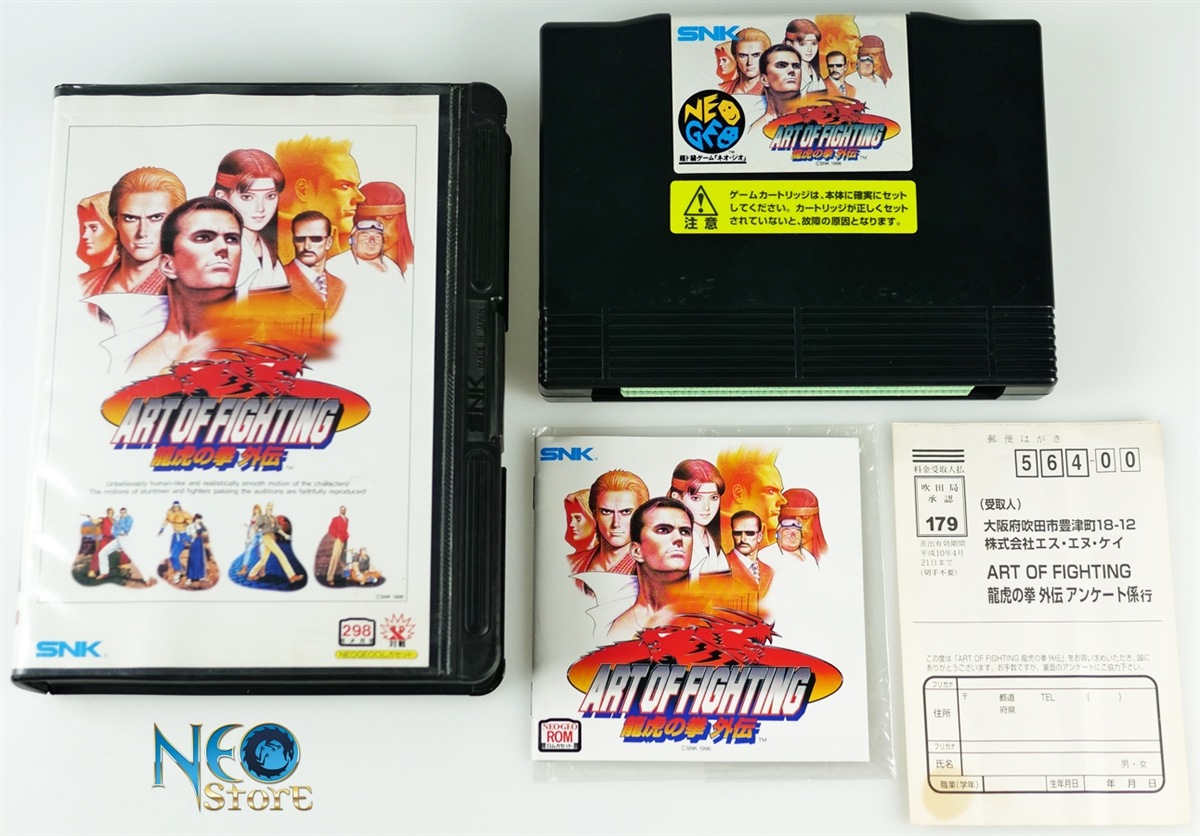 Neostore Com Art Of Fighting 3 Japanese Aes