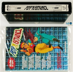 Pop 'n Bounce English MVS cartridge (holographic)