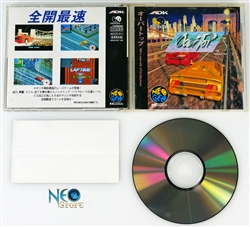 Over Top Japanese Neo-Geo CD
