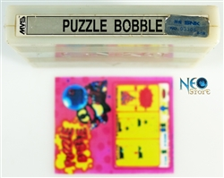 Puzzle Bobble English MVS cartridge